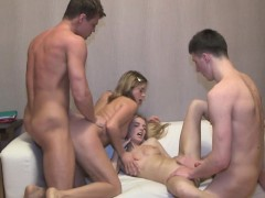 Teen, Hardcore, Blonde, Blowjob, European, 18 Years Old Girls, Group Sex, Hd, Doggystyle