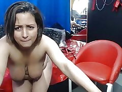 Amateur, Spanking, Webcam, Latina