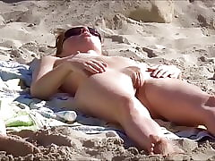 Beach, Flashing, Pussy, Shaved, Voyeur, Babe, Big Ass, Teens, Nudist
