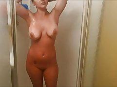 Teen, Bathroom fuck, Big Tits, Bikini, Lingerie, Babe, Shower, Teens