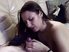Teen, Cumshot, European, Masturbation, Pussy, Small Tits, Stockings, Brunette, Handjob, Teens, Strip