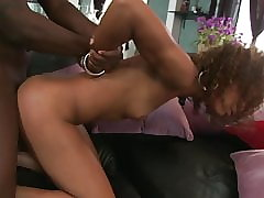 Teen, Blowjob, Lingerie, Small Tits, African, Brunette, Teens