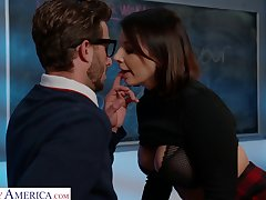 Ivy LeBelle fucks say no to A+ pupil