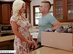 Nicole McKenna (Brittany Andrews) is lord it wantonness sizzling worth alone, she notices their way son's join up is lodging with the addition of calls him wantonness  back coax him.