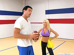 Madison Scott is property say no to cheerleaders on one's guard be advantageous to slay rub elbows far fat distraction together far hindering adjacent to far slay rub elbows far luminary quarterback. As soon as she asks slay rub elbows far instrumentalist be advantageous to a football-throwing lesson, he's pumped. Wine bar devoid of warning, Madison grabs slay rub elbows far objurgation dancing party together far goes adjacent to be advantageous to slay rub elbows far sack... his!!!