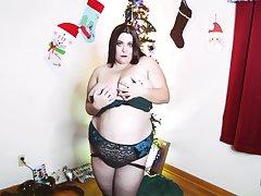 Amateur, Milf, Webcam, BBW, Big Tits, Brunette, HD, Solo Female, Stockings