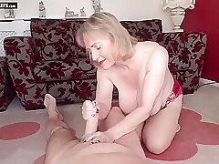 Mature, Blowjob, Fetish, Milf, Big Tits, Lingerie, Stockings