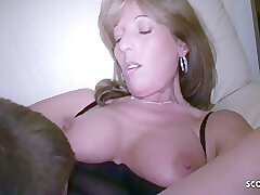 Amateur, Blonde, Milf, Threesome, big-tits, german, old-and-young, step-fantasy