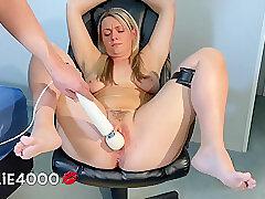 Amateur, Blonde, Fetish, Milf, bdsm, bondage, female-orgasm, foot-fetish, hd, hairy, toys