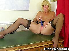 Amateur, Mature, Blondes, Milf, Webcam, Big Tits, British, Lingerie, Solo Female, Stockings, Striptease, Toys