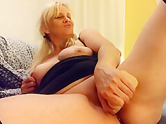 Amateur, Blondes, Milf, Big Tits, HD, Solo Female, Stockings, Toys