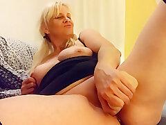 Amateur Sex, Blonde girls, Milf, big-tits, hd, solo-female, stockings, toys