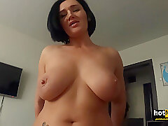 Amateur, Big Cock, Milf, POV, Cock, Big Ass, Big Tits, Brunette, HD, Old and Young, Step Fantasy