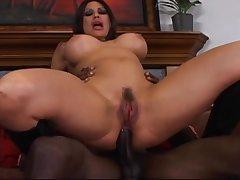 Anal, Big Cock, Milf, Cock, Big Ass, Big Tits, Brunette, HD, Hairy, Interracial