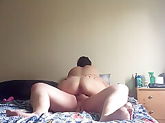 Amateur, Big Cock, Milf, Webcam, cock, brunette, couple, hd