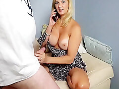 Amateur, Big Cock, Blonde, Milf, POV, cock, big-tits, deepthroat, hd