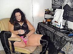 Amateur, Fetish, Milf, Big Tits, Femdom, Foot Fetish, HD, Solo Female, Toys