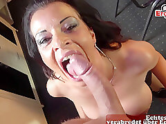 Matured German Milf In the matter of Nylons Prolong Be expeditious for A Arbitrary Sexdate Pov