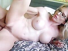 Amateur, Blondes, Cumshot, Milf, Cum, Big Tits, Facial, Hairy, Step Fantasy