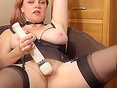 Amateur Sex, Milf, Webcam, big-ass, hd, hairy, red-head, solo-female, stockings, toys