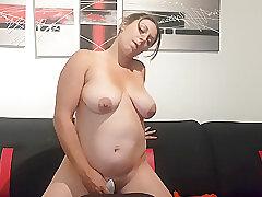Amateur, Milf, Webcam, big-ass, big-tits, brunette, couple, cunnilingus, face-sitting, hd, hairy, toys