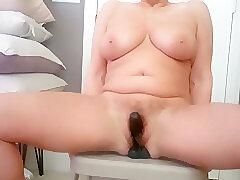 Amateur, Milf, big-tits, hd, solo-female, toys