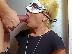 Amateur, Blonde, Cumshot, Milf, POV, cum, cum-in-mouth, european, facial, german, swallow-cum