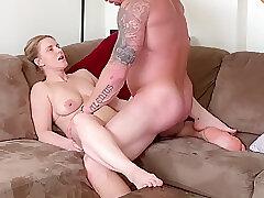 Amateur, Big Cock, Blondes, Milf, Cock, Big Ass, Big Tits, Cunnilingus, Female Orgasm, HD, Muscular Man