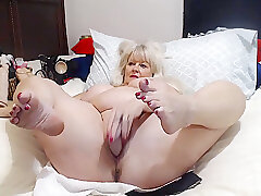 Amateur, Anal, Mature, Blonde, Milf, Webcam, big-ass, big-tits, gaping, solo-female, toys