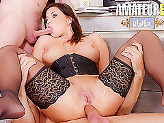 Threesome, Anal, Hardcore, Blowjob, Double Penetration, Milf, Big Ass, Big Tits, Deepthroat, Doggystyle, HD