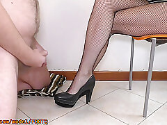 Amateur, Fetish, Milf, femdom, foot-fetish, hd, stockings