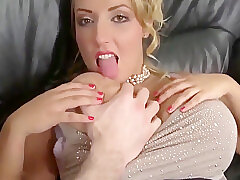 Amateur, Big Cock, Blondes, Milf, POV, Cock, Big Tits, Creampie, Deepthroat, Shaved