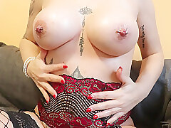 Amateur, Blondes, Milf, Big Tits, German, HD, Solo Female, Stockings, Tattoo