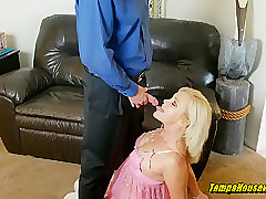 Hardcore, Blonde, Blowjob, Milf, POV, cowgirl, creampie, doggystyle, female-orgasm, striptease