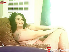 Amateur, Milf, Small Tits, big-ass, brunette, female-orgasm, hd, latina, smoking, solo-female, tattoo