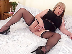 Mature, Fetish, Milf, BBW, Big Tits, Facial, Lingerie, Solo Female, Stockings, Toys