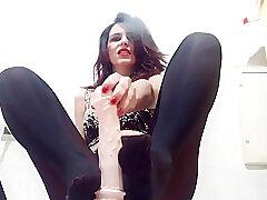 Amateur, Fetish, Milf, Webcam, Teens, Brunette, Foot Fetish, Footjob, HD, Smoking, Solo Female, Stockings