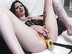 Amateur, Anal, Milf, Webcam, Brunette, German, Solo Female, Tattoo