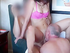 Amateur, Milf, Threesome, Brunette, Cuckold, Swingers