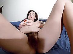 Amateur, Milf, Big Tits, Brunette, HD, Hairy, Solo Female