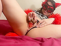 Amateur, Milf, Webcam, american, big-tits, brunette, fingering, solo-female, toys