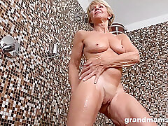 Amateur, Blondes, Fetish, Milf, Granny, HD, Solo Female, Toys