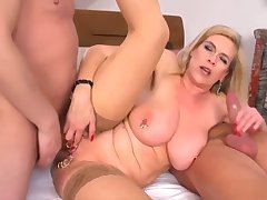 Anal, Hardcore, Blonde, Cumshot, Milf, Threesome, Group Sex, cum, sex, big-tits, brunette, compilation, facial, hairy, stockings