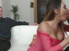 Big Cock, Fetish, Milf, Cock, Big Tits, Brunette, Cuckold, Deepthroat, HD