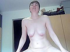 Mature, Masturbation, Milf, european, lingerie, solo-female, toys