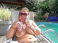 Mature, Masturbation, Milf, BBW, Big Tits, European, Fingering, Lingerie, Outdoor, Solo Female