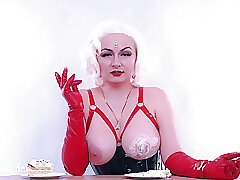 Broad in the beam Inept Bowels Sploshing Cake. Feed Charm With an increment of Femdom Humiliation. Dishevelled With an increment of Muddy Fetisch