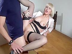Amateur, Anal, Blondes, Cumshot, Milf, POV, Small Tits, Cum, Creampie, European, German, Stockings