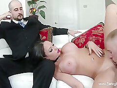 Amateur, Big Cock, Cumshot, Milf, POV, Cum, Cock, Big Tits, Brunette, Cuckold, German, Swingers, Tattoo