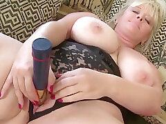 Amateur, Blondes, Milf, Big Tits, HD, Solo Female, Toys